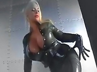 Amazing Big Tits Fetish Latex MILF Silicone Tits