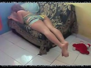 Legs Sister Sleeping Teen