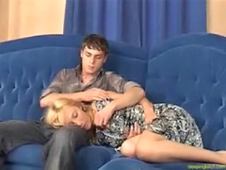 Blonde Sister Sleeping Teen