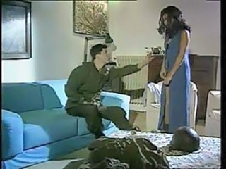Army French MILF Pornstar Uniform Vintage