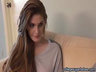 Amazing Cute Long hair Redhead Teen