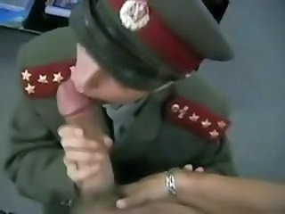 Army Big cock Blowjob Pov Uniform