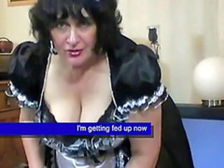 BBW Maid Mature Natural Uniform