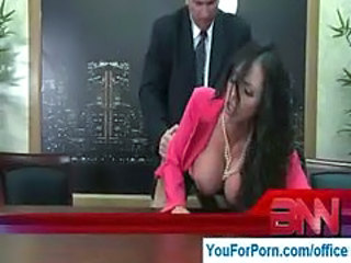 Big Tits Doggystyle MILF Office