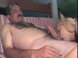 Blowjob Daddy Old and Young Pigtail