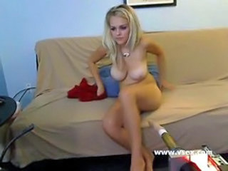 Amazing Big Tits Blonde Bus Machine Teen Webcam