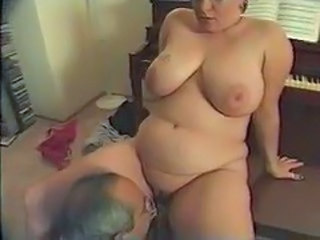 Big Tits Chubby Licking Older