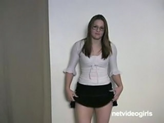 Casting Chubby Glasses Teen