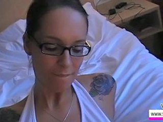 Glasses Mature Pov Tattoo