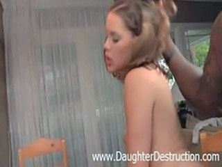 Doggystyle Hardcore Interracial Teen Young