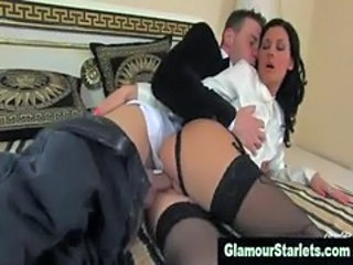 Stockings classy clothed bitch