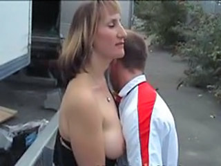 British European MILF Outdoor Wife
