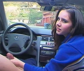 Car Handjob Teen Young
