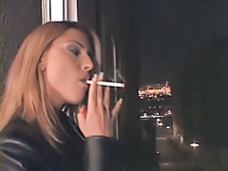 Amazing MILF Smoking
