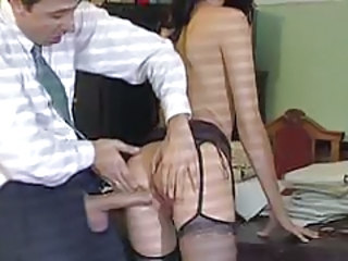 Ass Big cock Hardcore Office Secretary Stockings