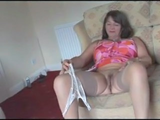 Amateur British European Homemade Lingerie MILF Stockings