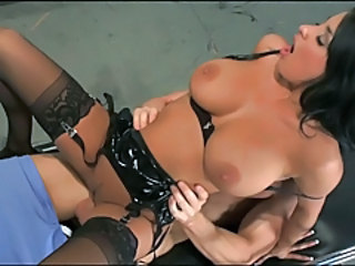 Amazing Big Tits Hardcore MILF Natural Nurse Pornstar Riding Stockings