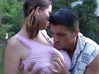 Big Tits Natural Outdoor Pigtail Teen