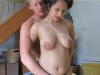 British European Mom Nipples Old and Young SaggyTits