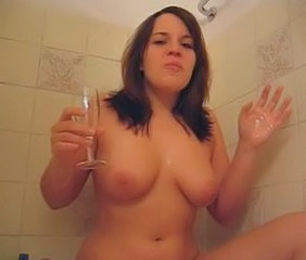 Amateur Bathroom Drunk SaggyTits Teen
