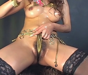Asian Oiled Panty