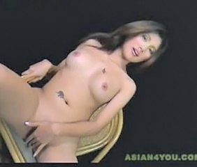 Asian Babe Cute Masturbating Tattoo Thai
