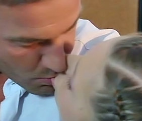European Italian Kissing Old and Young Teen
