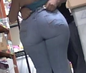Ass BBW Jeans Office