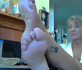 Feet Fetish Mature Tattoo