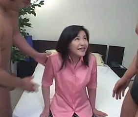 Asian Double Penetration Japanese Mature Threesome