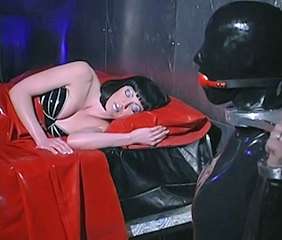 Latex MILF Sleeping