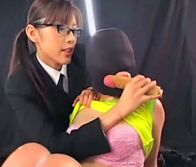Asian Glasses Slave Teen Toy