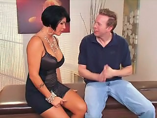 Big Tits Brunette Bus MILF Mom Old and Young