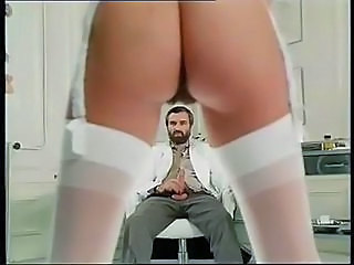Ass Doctor French Nurse Stockings Vintage