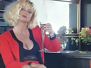 Blonde Drunk European German MILF