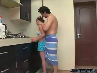 Kitchen Russian Teen Young