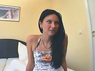 Amateur Brunette Cute European German Piercing Skinny Small Tits