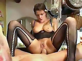 Anal Babe European French Riding Stockings