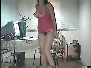 Amateur Homemade Latina Panty Stripper Wife