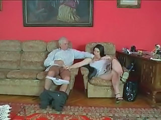 BBW Handjob Old and Young