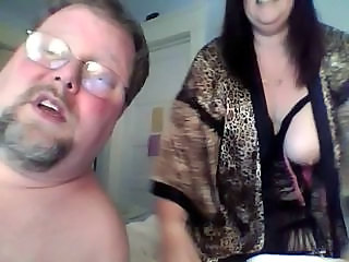 Chubby Mature Older SaggyTits Webcam Wife