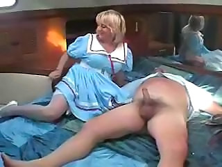 Chubby European MILF Uniform