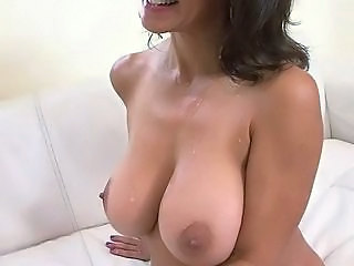 Amazing Big Tits Casting Cumshot MILF Natural Nipples