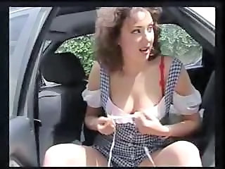 Babe Car Outdoor Stripper