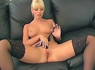 Babe Blonde Fetish Pussy Shaved Stockings