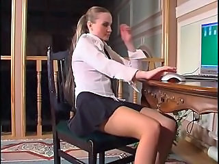 Cute Skirt Student Teen Uniform Upskirt