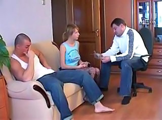 Amateur Russian Teen Threesome