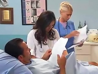 Doctor MILF Nurse Threesome Uniform