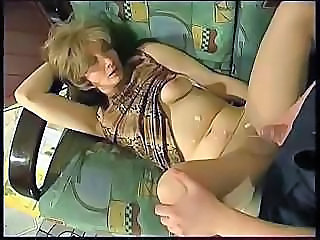 Cumshot Mature Mom Pantyhose
