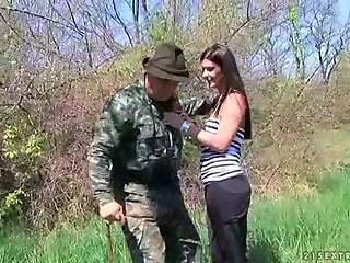 Army Old and Young Outdoor Teen